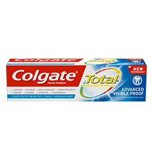 Zubna pasta Colgate Total Visible Action
